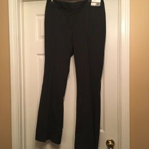 New York & Co Size 14 Midrise Flare Black Pants